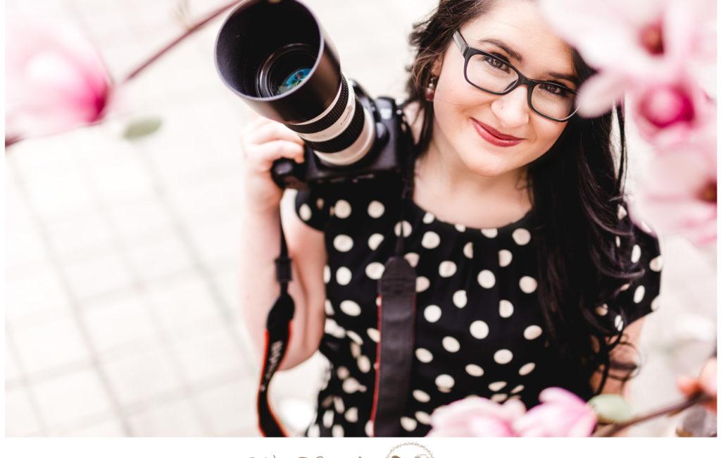 Als Fotografin vor der Kamera